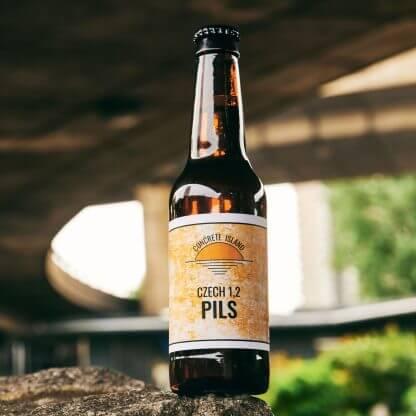 bottle of pils