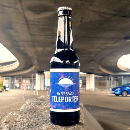 bottle of hyperspace teleporter beer